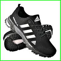 Кроссовки Adidas Fast Marathon Черные Мужские Адидас (размеры: 41,44,45) Видео Обзор