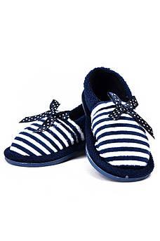 Детские тапочки темно-синие AAA 128166M