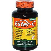 Эстер-С с Бифлавоноидами, Ester-C, American Health, 500 мг, 225 таблеток