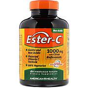 Эстер-С с Бифлавоноидами, Ester-C, American Health, 1000 мг, 180 таблеток