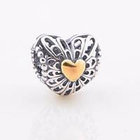 Шарм Pandora сердце, Пандора серебро
