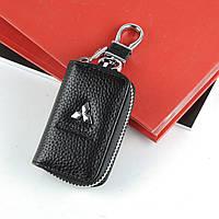 Чехол для ключей с карабином Mitsubishi   2865