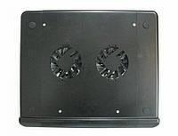 Подставка для ноутбука Q-3, удобная, с 2-мя вентиляторами