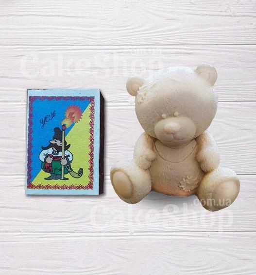 Силиконовый молд 3D Медвежонок 3