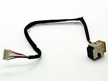 Роз'єм живлення + кабель HP Probook 4520 4520S 4525 4525S 4720 4720S 4725 ( 50.4GK08.021 50.4GK08.031