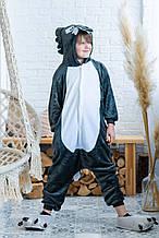Пижама Кигуруми детская BearWear Волк L 125 - 135 см Серый (K0W1-0006-L)