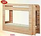Детская двухярусная кровать с ящиком для белья Олимп,, фото 4