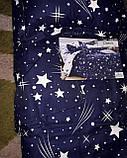 Байковый  комплект постельного белья Байка ( фланель)   Листья, фото 4
