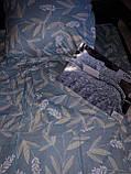 Байковый  комплект постельного белья Байка ( фланель)   Листья, фото 5