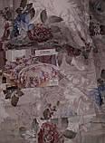Байковый  комплект постельного белья Байка ( фланель)   Листья, фото 2