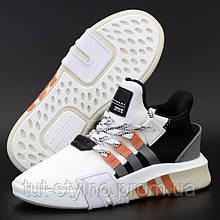 Мужские кроссовки в стиле Adidas EQT BASK ADV, белый, черный, оранжевый, Вьетнам