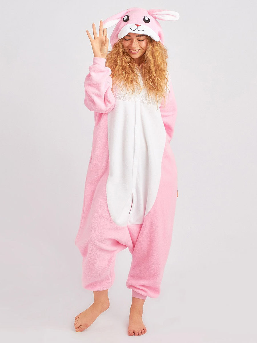 Кигуруми Eco Bamboo Кролик Розовый 190 см (1189505549)