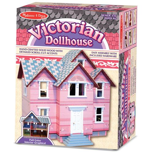 Дитячий вікторіанський ляльковий будиночок Melissa&Doug