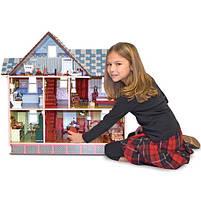 Дитячий вікторіанський ляльковий будиночок Melissa&Doug, фото 3