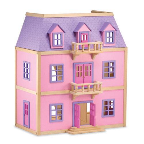 Дитячий багатоповерховий дерев'яний будиночок Melissa&Doug