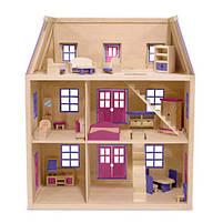 Дитячий багатоповерховий дерев'яний будиночок Melissa&Doug, фото 2