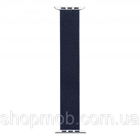 Ремешок для Apple Watch Band Nylon Mono Size L 38 / 40mm Цвет Тёмно-Синий, фото 2
