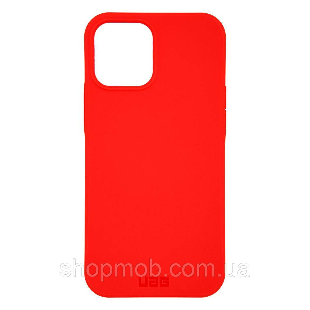 Чехол UAG Outback for Apple Iphone 12 Pro Max Цвет Red