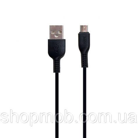 USB Hoco X20 Micro 3m Цвет Чёрный, фото 2