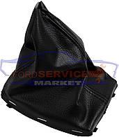 Чехол кулисы КПП без рамки неоригинал для Ford Focus 2 c 04-08, C-Max c 03-10
