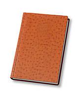 Ежедневник недатированный А5 Ostrich,коричневый Optima