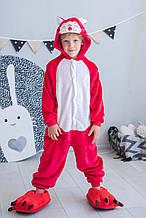 Пижама Кигуруми детская BearWear Лисенок M 115 - 125 см Красный (K0W1-0091-M)