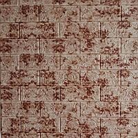 3D панелі Самоклеючі Цегла, мармур 700х770х5мм