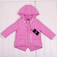 Весняна куртка для маленької принцеси на зростання 80-134