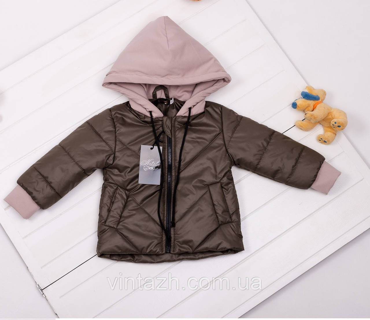 Красивая, модная детская деми куртка рост 80-134