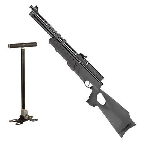 Пневматическая винтовка Hatsan AT44PA с насосом Hatsan, фото 2