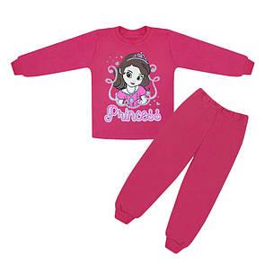 Дитяча піжама для дівчинки Принцеса Софія інтерлок-начісування