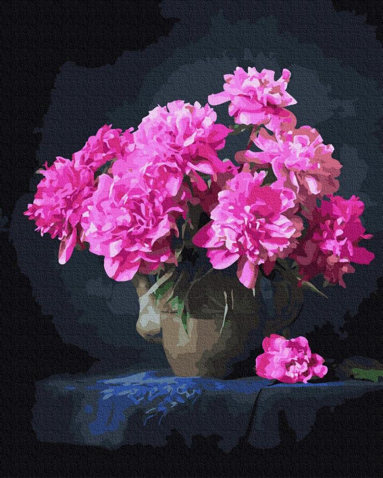 Картина по номерам Rainbow Art розовые пионы GX37791-RA