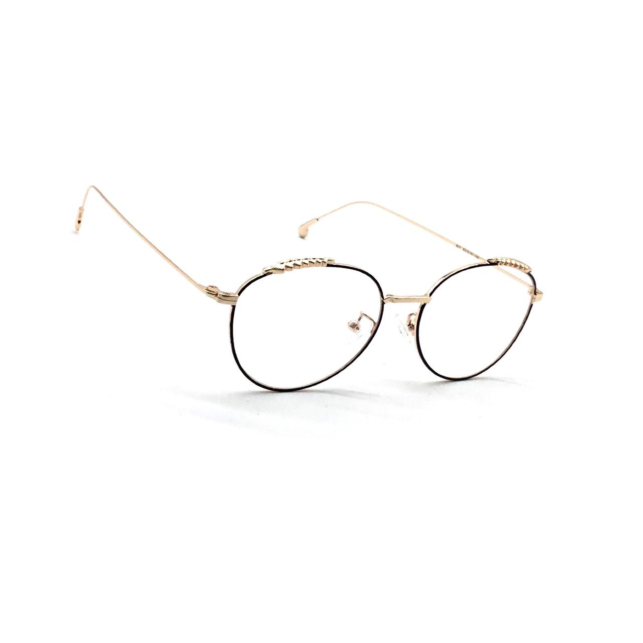 Комп'ютерні окуляри з полімерної лінзою 507 чорний з золотом