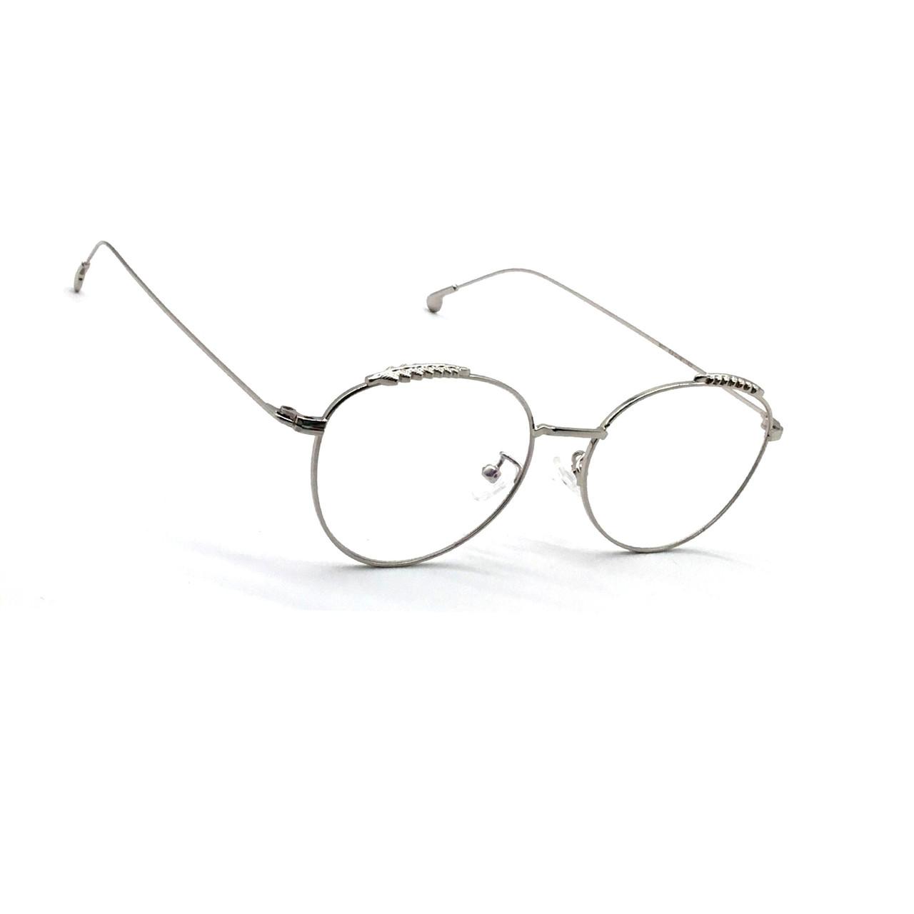 Комп'ютерні окуляри з полімерної лінзою 507 срібло