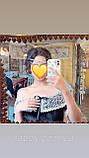 Прикраса люкс на шию з цирконами, чокер кольє, можна одягнути як фероньеру, фото 10