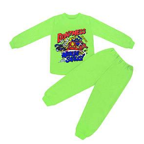 Піжама дитяча для хлопчика Ninja skills інтерлок-начісування