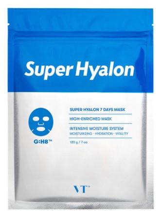 Набір щоденних тканинних масок VT Cosmetics Super Hyalon 7 Days Mask 7 шт