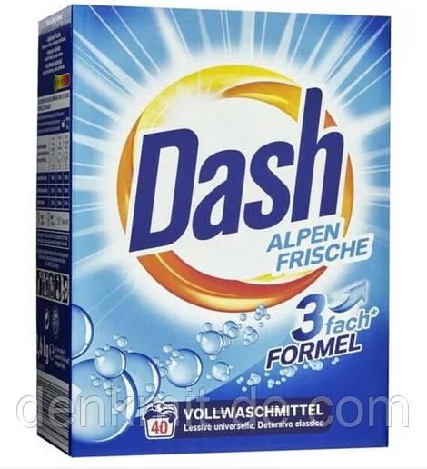 Порошок Dash Alpen Frische (40 стирок) 2,6 кг Германия