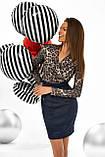 """Коктейльное платье MasModa """"Лео"""" полуприлегающее мини (5 цветов, р.S-XL), фото 6"""