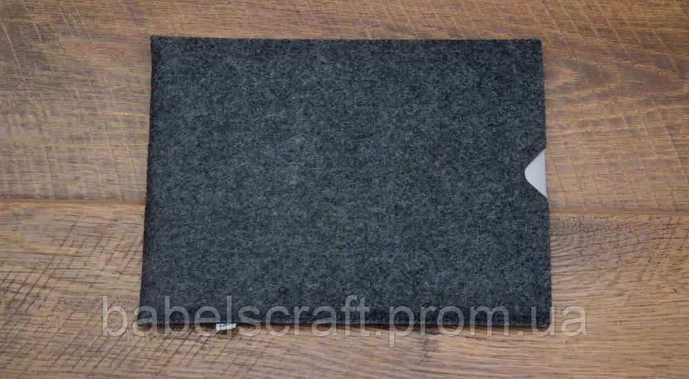 Чехол - конверт Babel's Craft SPINK Macbook Air 13, Pro 13 2019 серый