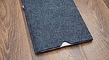 Чехол - конверт Babel's Craft SPINK Macbook Air 13, Pro 13 2019 серый, фото 2