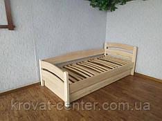 """Ліжко підліткове """"Марта"""" з підйомним механізмом 90х200 з масиву дерева (колір на вибір)"""