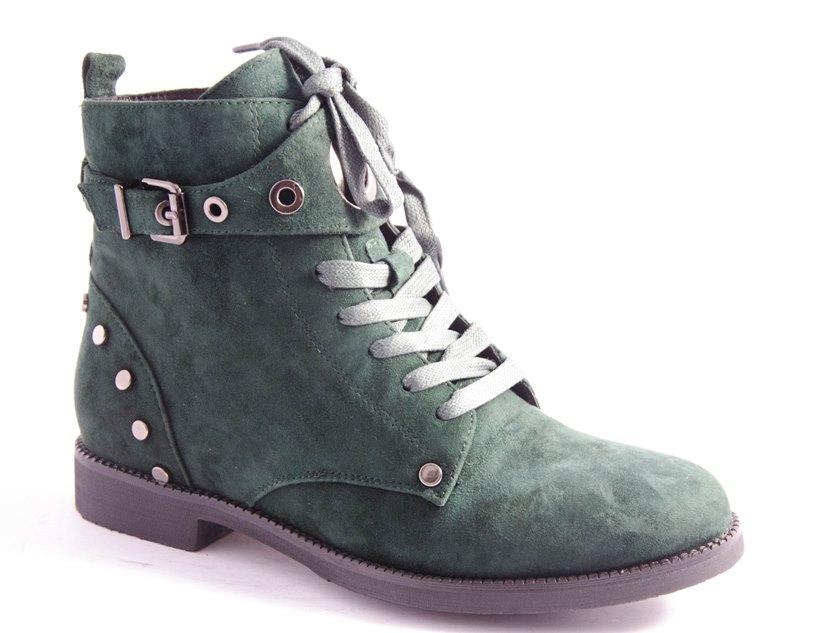 Черевики жіночі зелені Vlad XL D02-503