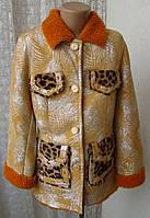 Дубленка детская нарядная девочке 5-7 лет бренд Sar Max 4344а