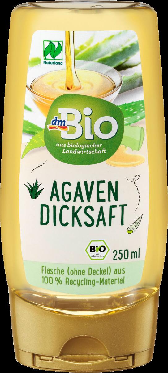 Органический сироп агавы dm Bio Agavendicksaft Naturland, 250 мл