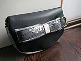 Женская сумка на пояс (бананка) в клетку, фото 5