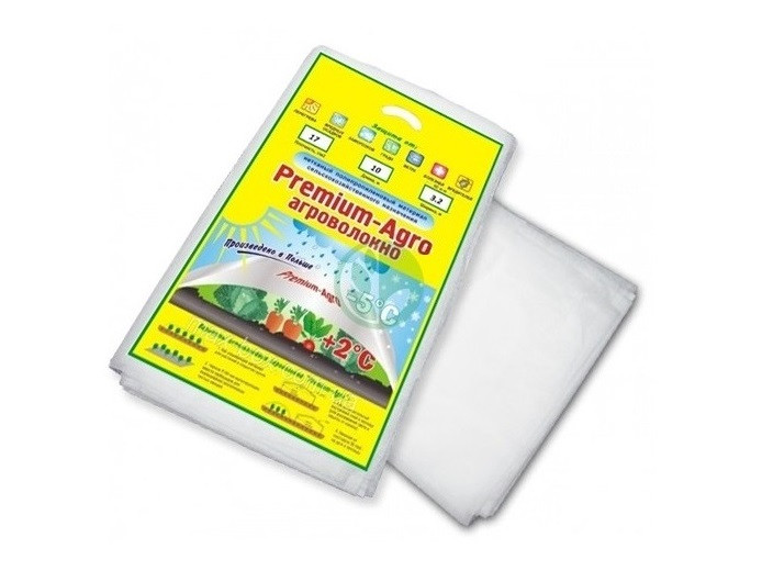 Агроволокно белое 30 г/м.кв пакет 3,2 метра на 15 метров Premium-agro 1671
