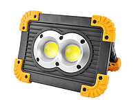 Рабочий фонарь COB 20 Вт портативный водонепроницаемый фонарь с 3 режимами светодиодный прожектор для похода.