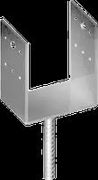 Опора(Подпятник)Для Деревянного(Столба)Под Бетонирование U-Образный 50x40х20мм