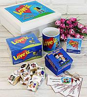 """Большой подарочный набор """"Love is.."""" (Лав Из) для любимых людей"""